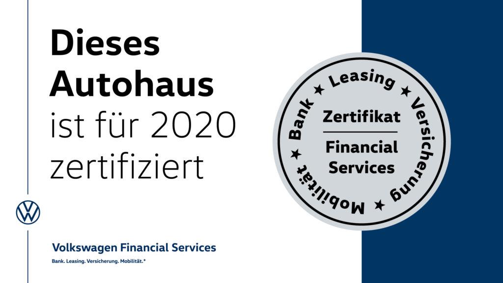 AH Zertifizierung 2020